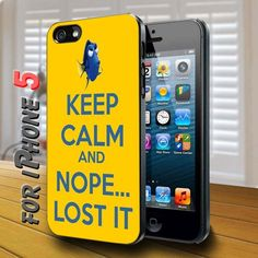 keep calm and nope lost it - design case for iphone 5 | shayutiaccessories - Accessories on ArtFire