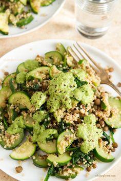 Green Powerhouse Pesto Plate
