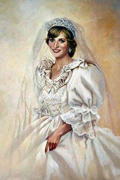 July Prince Charles marries Lady Diana Spencer in Saint Paul's… Princess Diana Wedding, Royal Princess, Princess Of Wales, Prince And Princess, Lady Diana Spencer, Royal Brides, Royal Weddings, Princesa Diana, Tilda Swinton