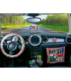 DIY Car Accessories | Car Caddy | Steering Wheel Cover | Find DIY Craft Ideas from @Jo-Ann Fabric and Craft Stores