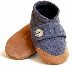 Wooly Baby slippers for toasty tootsies – Babyology
