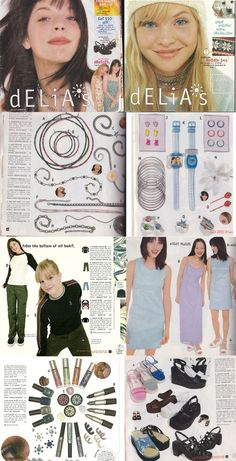 1990s Delia's catalogs. I distinctly remember both of these.