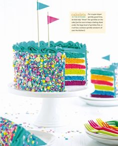 My first book, published by Clarkson Potter, The Sweetapolita Bakebook: 75 Fanciful Cakes, Cookies & More to Make & Decorate, contains a mix of and cake