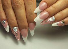Nails * nail art * wedding * geometric * elegant