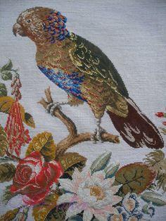 Gallery.ru / Фото #179 - СОЗЕРЦАЕМ КРАСОТУ-161 - GAVRUCHA Kite, Needlepoint, Elsa, Berlin, Embroidery, Wool, Painting, Cross Stitch Art, Dots