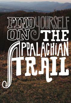 Find yourself on the Appalachian Trail. #keen #hiking #bucketlist