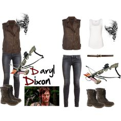 Daryl Dixon Cosplay Walking Dead