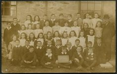 Treleigh Council School, c.1910  Real photographic - publisher not stated (not numbered)