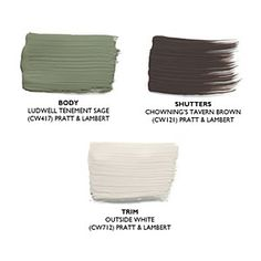 Pick the Right Exterior Paint Colors | Earthy Tones | SouthernLiving.com