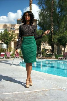 cropped top + pencil skirt from  http://fashionfinder.asos.com/womens-looks/poolside-glam-54939