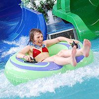 Three Fabulous Flumes at the Oasis Fun Pools in Newquay Cornwall