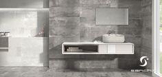 Incluir el color gris en tu cuarto de baño puede ayudarte a conseguir un ambiente sofisticado y muy elegante. ¡Llena de encanto tu espacio de relax!  #Reaction #Sanchis #cementos