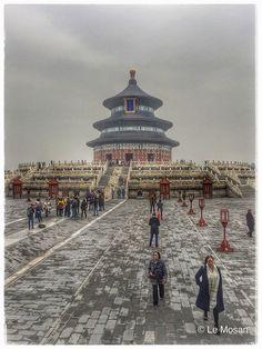 Le Temple du Ciel (天壇) (Temple of heaven) - Beijing - China Temple Of Heaven, Beijing China, Ciel, Belgium, Paris Skyline, Explore, Country, Travel, Viajes