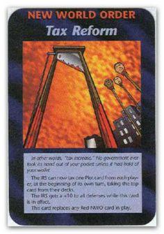 Illuminati Card Tax Reform