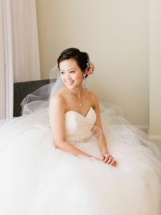 Olivia+Charles Wedding  Gown from Jin Wang Bridal