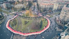 Marsz Niepodległości w Szczecinie z lotu ptaka [wideo, zdjęcia] - gs24.pl