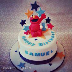 #Elmo Birthday cake #sesamestreet