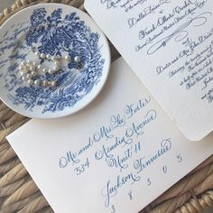A personal favorite from my Etsy shop https://www.etsy.com/listing/530647552/wedding-calligraphy-hand-written