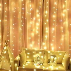 Led Window Curtain String Light, Icicle Fairy Twinkle Lights With 8 Modes Decoration For Christmas Wedding Party Home Garden Bedroom Outdoor Indoor Wall, Warm X Day Products,Gifts Products String Lights In The Bedroom, Led String Lights, Twinkle Lights, Wall Lights, Fairy Light Curtain, Led Curtain Lights, Garden Bedroom, Bedroom Wall, Window Curtains