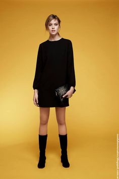 vestidos+de+invierno+2016+Chocolate+moda+mujer.jpg (640×960)