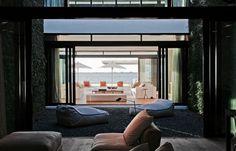 Beach house designed by Ralph Choeff.