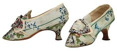 Resultado de imagen de eighteenth century shoes