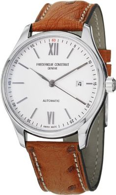 Frederique Constant Slim Line Automatic White Dial Brown Leather Mens Watch FC-303WN5B6OS Frederique Constant,http://www.amazon.com/dp/B00EY5E9B8/ref=cm_sw_r_pi_dp_JV7Usb0XWM976XT9