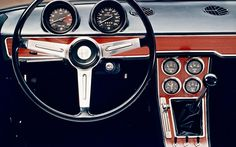 Alfa Romeo 1750 GTV dash. One of my all-time favourites!