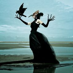 Wounderland by Belgium-based art duo Mothmeister: Unsettling photographs of people dressed in scary costumes, holding taxidermy animals Dark Beauty, Photographie Post Mortem, Scary Costumes, Women In Music, Photographs Of People, Halloween Disfraces, Weird And Wonderful, Dark Art, Art Photography