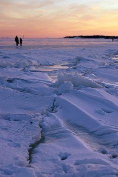 Walking on Ice | Finland