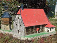 Johanniskirche Halberstadt als Miniaturbauwerk.