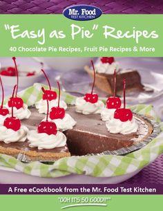 """""""Easy as Pie"""" eCookbook"""