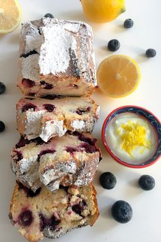 A lighter afternoon treat: Blueberry and lemon loaf recipe