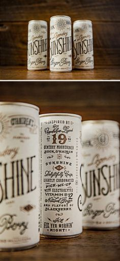 Buck O'Hairen's Sunshine packaging
