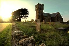 Llanidan Church, on the outskirts of Brynsiencyn in Anglesey, North Wales