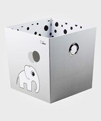 Done by Deer Stacking Box Happy Dots Grey Black