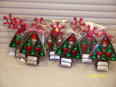 Homemade Christmas Candy Gifts