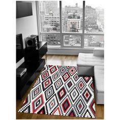 Tapis salon FRESH KELIM en Polyester, par WeconHome, Tapis moderne Fresh, Contemporary, Rugs, Home Decor, Color Inspiration, Modern Carpet, Farmhouse Rugs, Interior Design, Home Interior Design