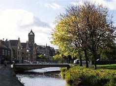Town Impressions | Royal Burgh of Peebles. Bridgegate over the Eddelston Waters