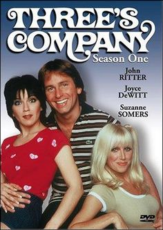 """""""Three's Company"""" - John Ritter, Joyce DeWitt and Suzanne Somers Best 80s Tv Shows, 80 Tv Shows, Old Shows, Great Tv Shows, Movies And Tv Shows, Favorite Tv Shows, Favorite Things, Suzanne Somers, Dc Movies"""