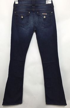 New Hudson Signature Triangle Flap Bootcut Denim Jeans Size 28   eBay #back2school #fashion #jeans #denim #hudson #usa