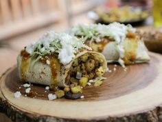 Get Roasted Cauliflower Burrito Recipe from Food Network