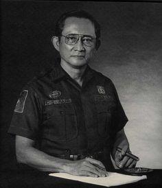 P.C Gen. (later President) Fidel V. Ramos during EDSA Revolution