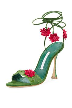 Watermelon feels with sassy pizzazz all packed into one pair of heels for your warm days ahead..