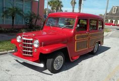 1952 Willys V8