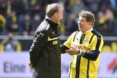 Herr Otto Rehhagel, BVB Legend. #Borussia #Dortmund #Honouring #Legacy