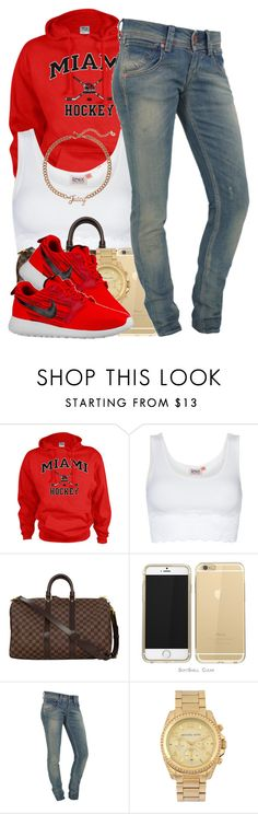 """Bryson Tiller- Exchange"" by polyvoreitems5 ❤ liked on Polyvore featuring moda, ONLY, Louis Vuitton, Fornarina, Michael Kors, NIKE e Juicy Couture"