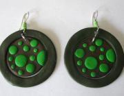 circulos verdes fimo