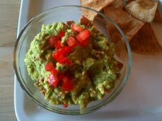 Easy, Clean Guacamole. Going with walking tacos tonight.