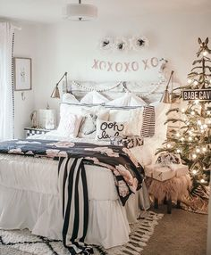 Raise your hand if your still using blankets for tree skirts!?  I can't tell you how much easier an actual tree skirt is compared to always adjusting a blanket or fabric ☝️. I've linked my favorite tree skirts including the one we use in our living room! Also some other styles like wood and copper- yes copper . Shop the link in my bio to see! Happy Wednesday friends! http://liketk.it/2pNXm @liketoknow.it #liketkit